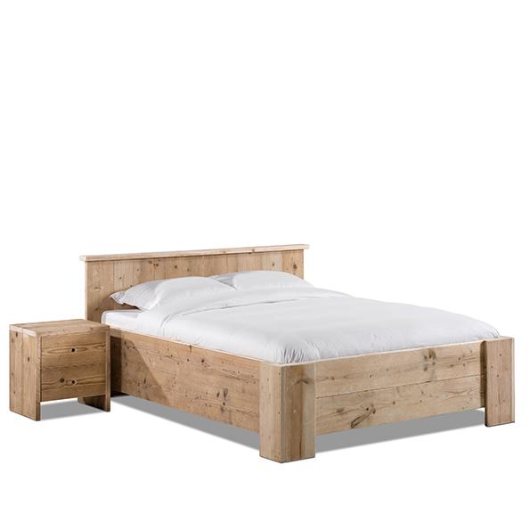 Steigerhout bed Monti