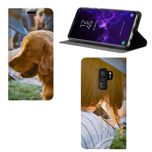 Samsung Galaxy S9 Plus Stand Case Hoesje Maken met Foto