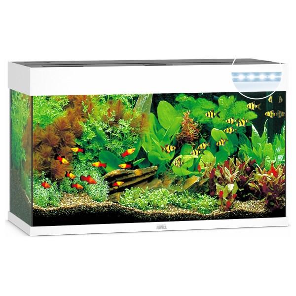 Juwel Aquarium Rio 125 Led 80x35x50 cm - Aquaria - Wit Ca. 125 L