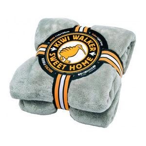 Kiwi Walker Sweet Home Blanket - Maxi - Lichtgrijs