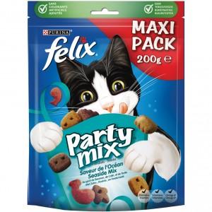 Felix Party Mix Seaside 200 gr kattensnoep 5 x 200 gram