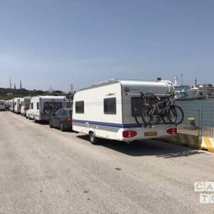 Hobby caravan uit 2006