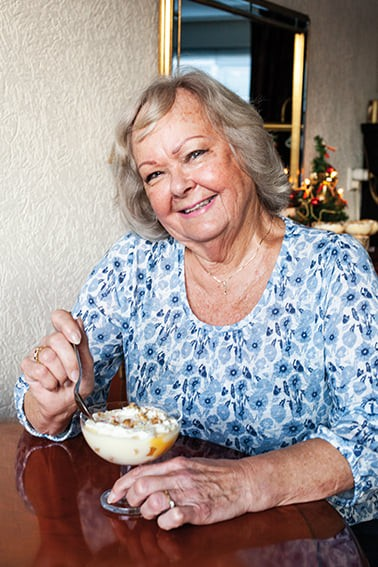 Angela's trifle