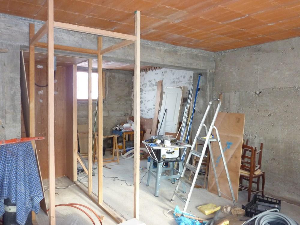 Fase 2: Badkamer/WC van de Sous-Sol  (2/3)
