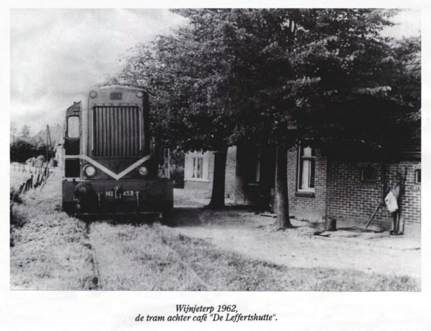 HF Weinterp Durk Tram achter cafe Leffertshutte 1962-1