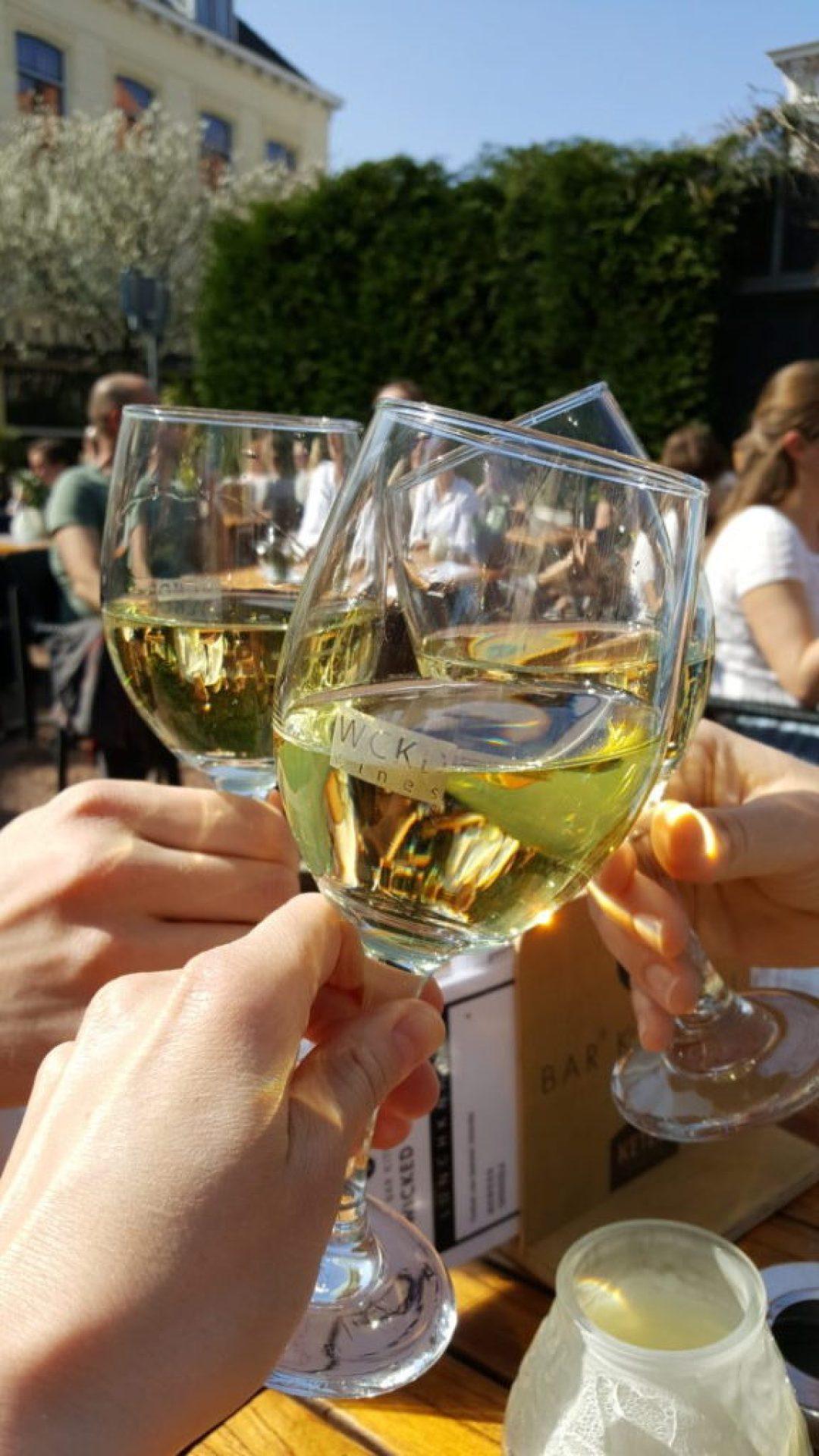 leukste terrassen in Den Haag: Wicked Wines
