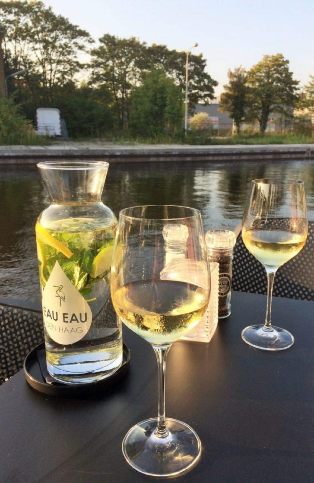 leukste terrassen in Den Haag: borrelen bij Capriole
