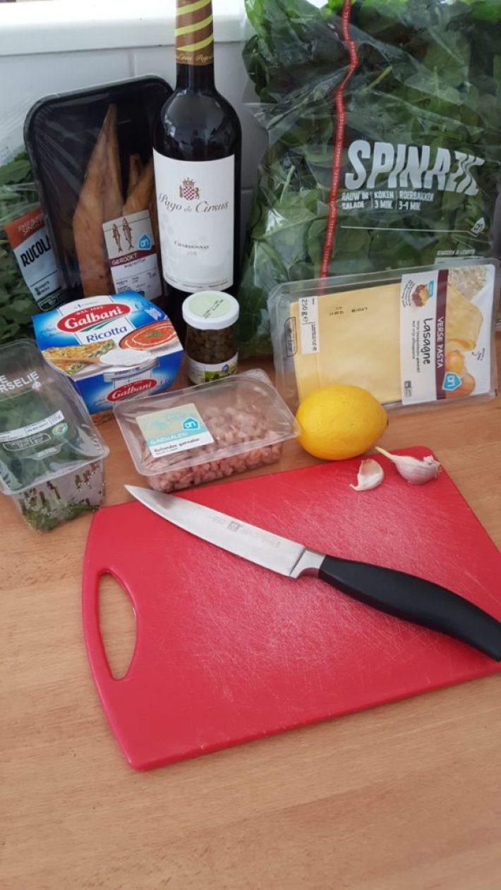 diner thuis met vrienden: voorbereiden