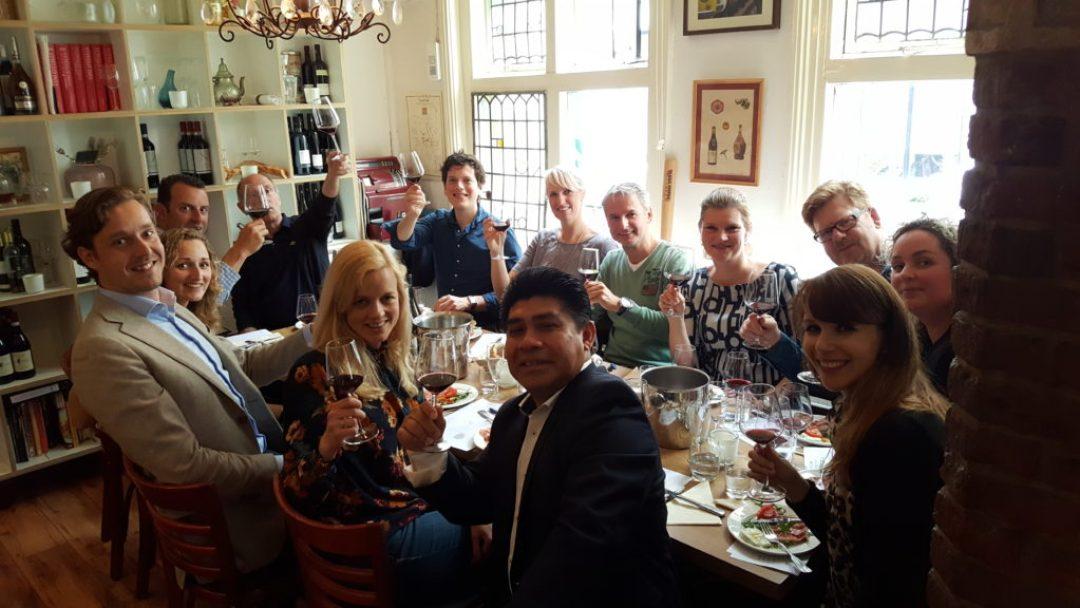 Restaurant Caroni: Italiaanse wijnproeverij in Den Haag