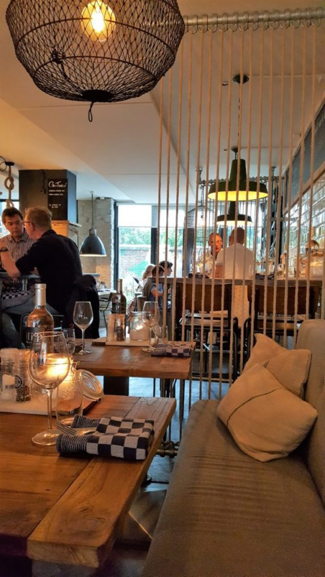 Visrestaurant Vigo: interieur