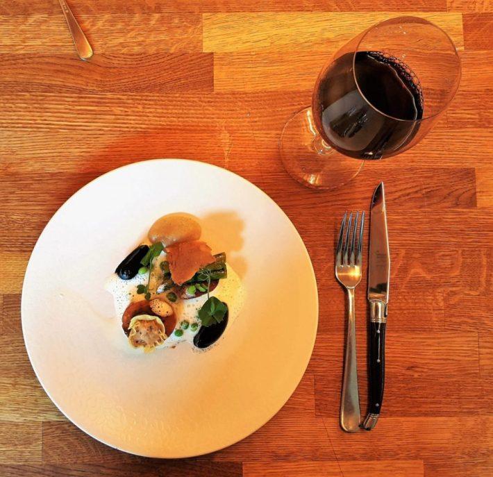 restaurant Fris in Haarlem: tante Door kip