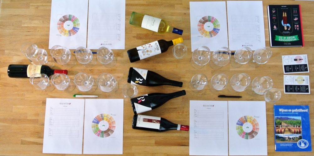 Een geslaagde wijnproeverij thuis organiseren (in maar 6 stappen)
