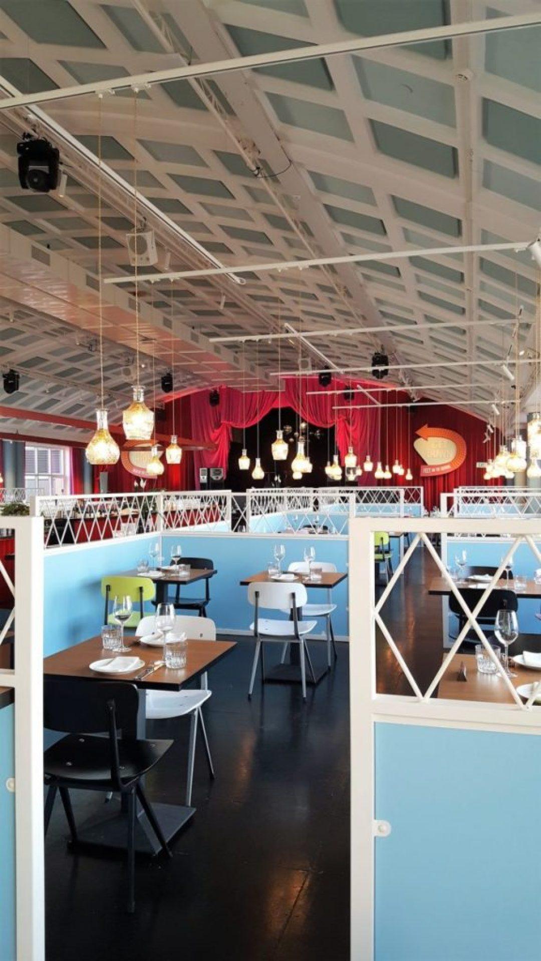 Bink rooftop bar en restaurant: interieur