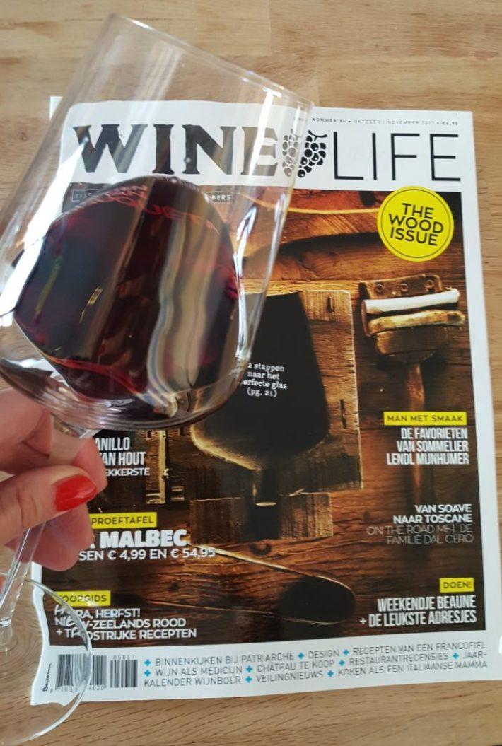 wijn cadeau voor een wijnliefhebber: Wijntijdschrift