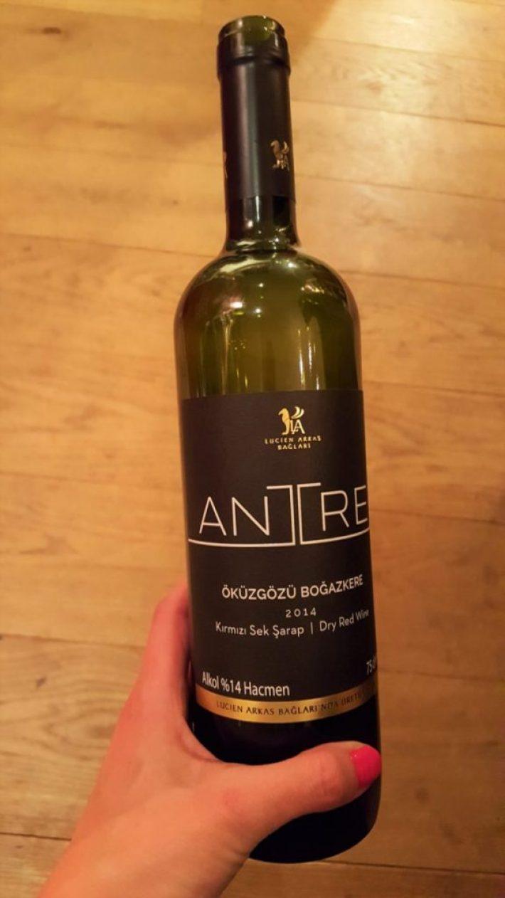 Turkse wijn: Antre wijn