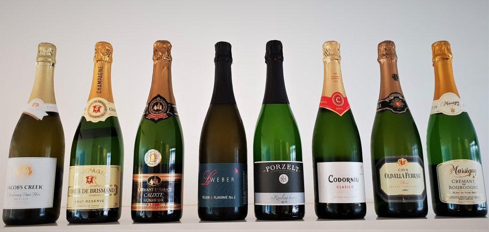 alternatieven voor champagne