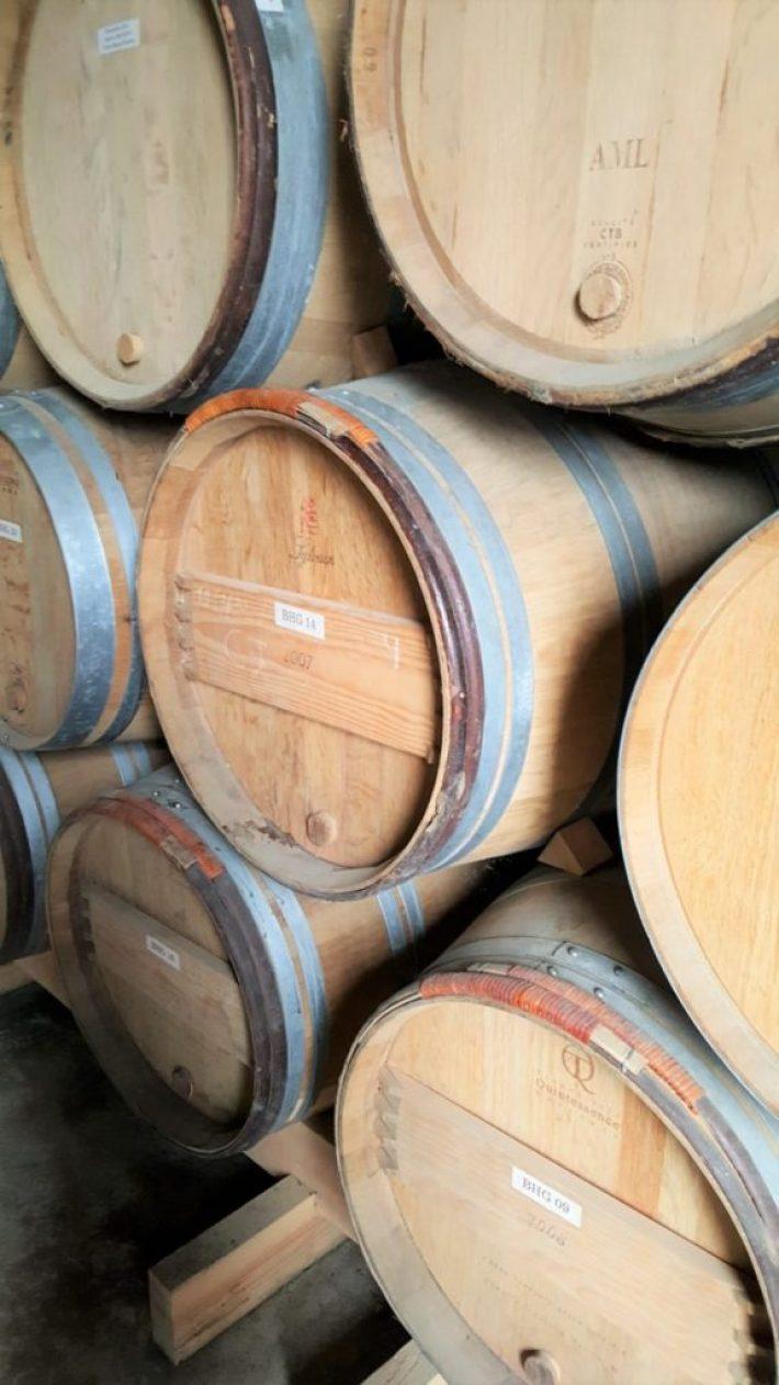 Belgische wijn: wijntonnen
