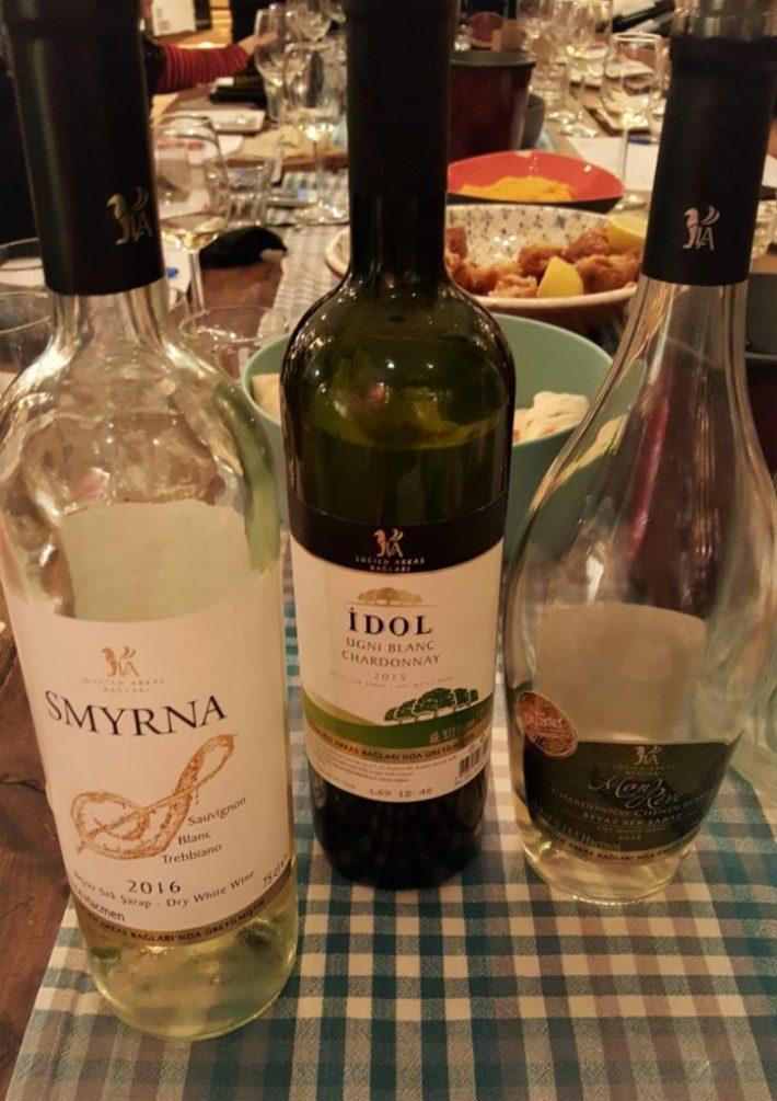 Turkse wijn: witte wijnen
