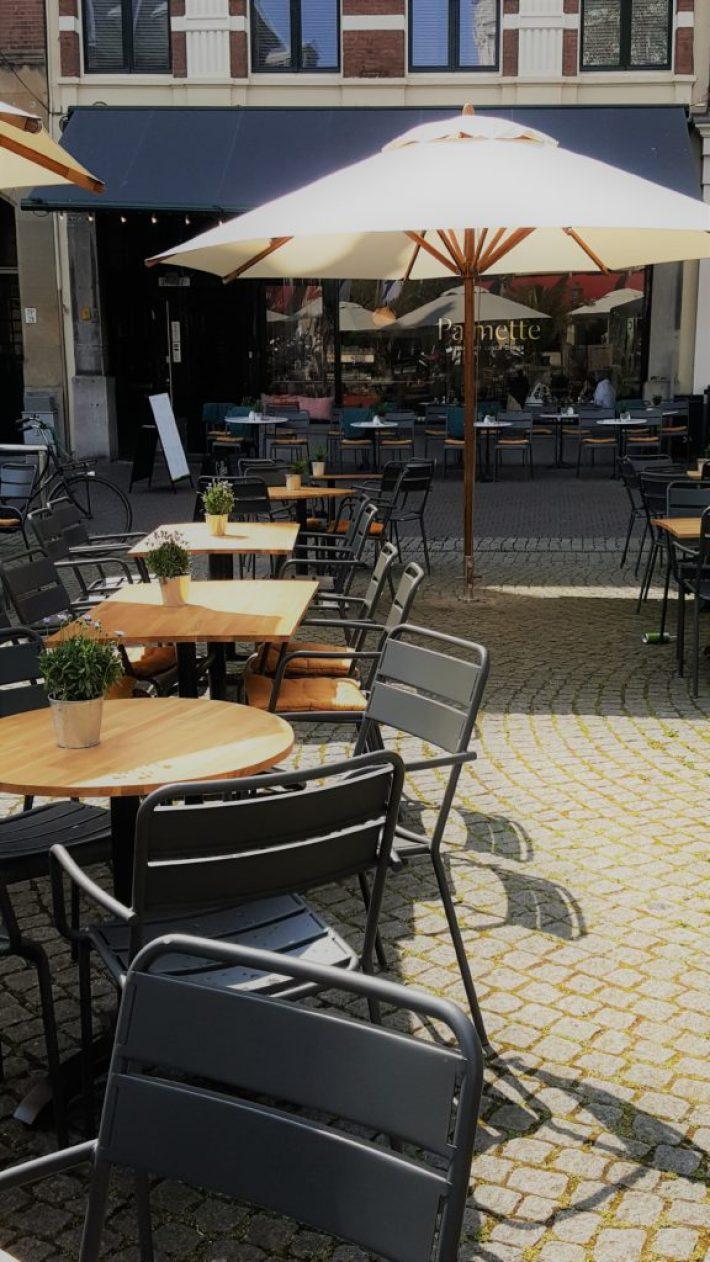 leukste terrassen in Den Haag: palmette