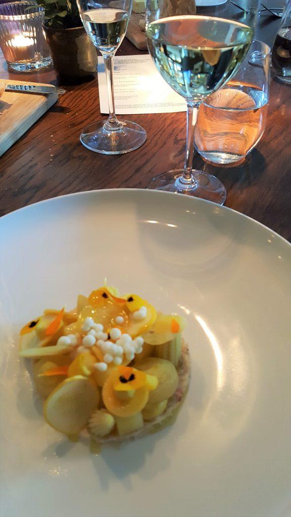 Michelinster restaurant Niven; een topper