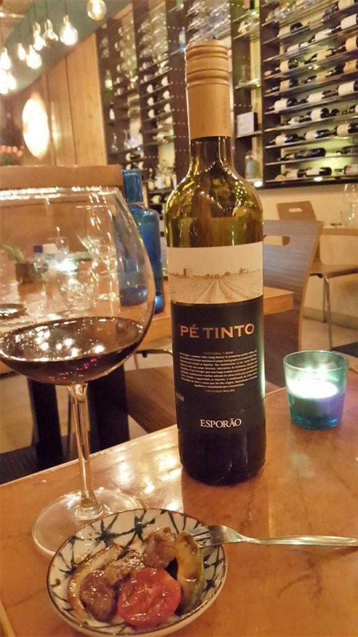 portugese wijn bij wijnbar kurk