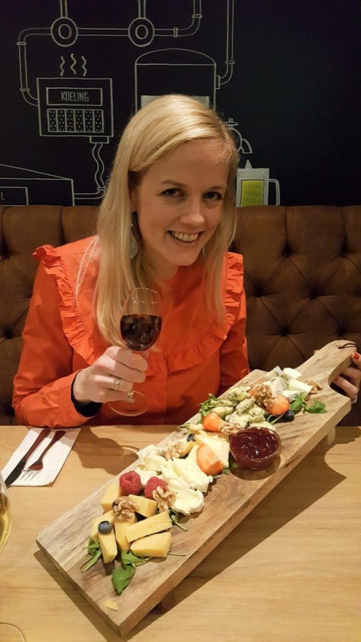 restaurant en wijnbar le Bonheur Barendrecht: kaasplank