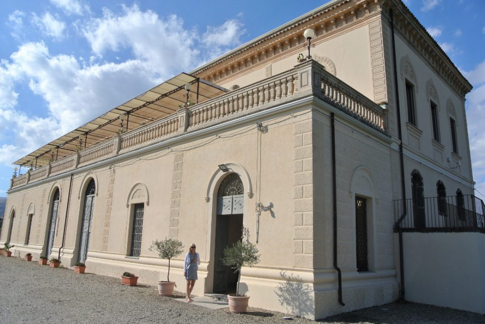 Siciliaanse wijn proeven bij wijnhuizen op Sicilië: Feudo Vagliasindi