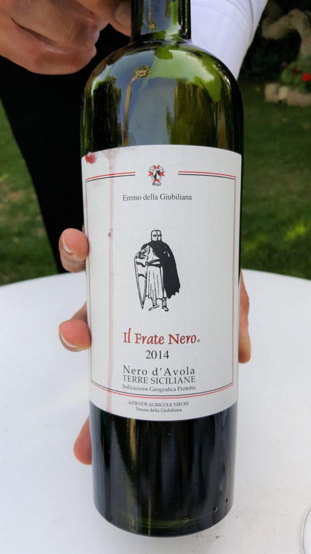 Restaurant Sicilie: Eremo della Giubiliana in Ragusa wijn