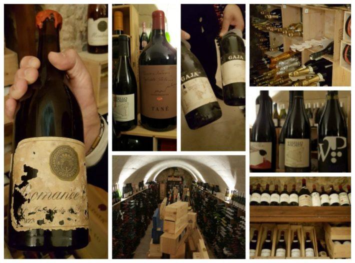 Tips eten Sicilie: restaurant Locando Don Serafino in Ragusa wijnkelder