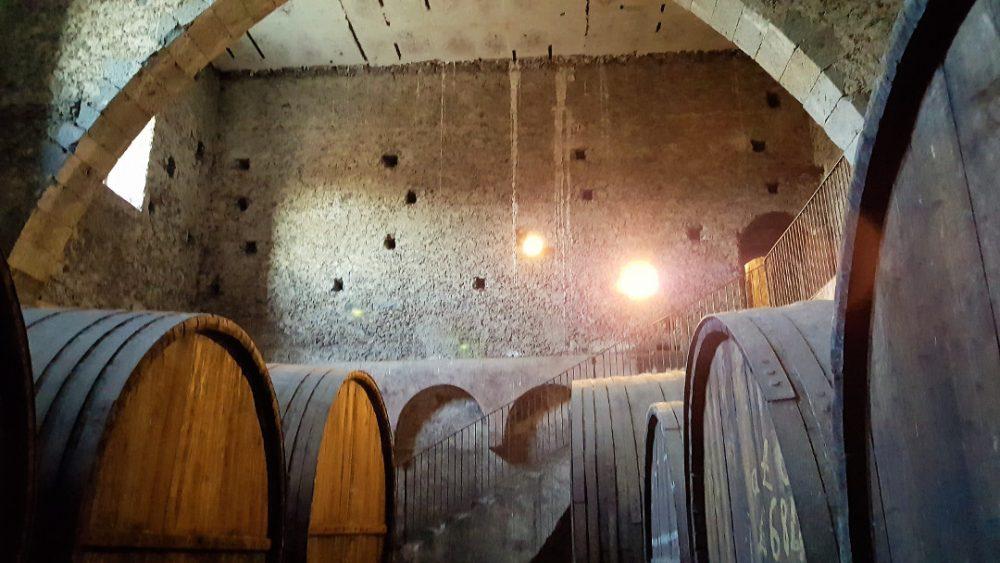 Siciliaanse wijn proeven en wijnhuizen op Sicilië: wijnkelder Feudo Vagliasindi