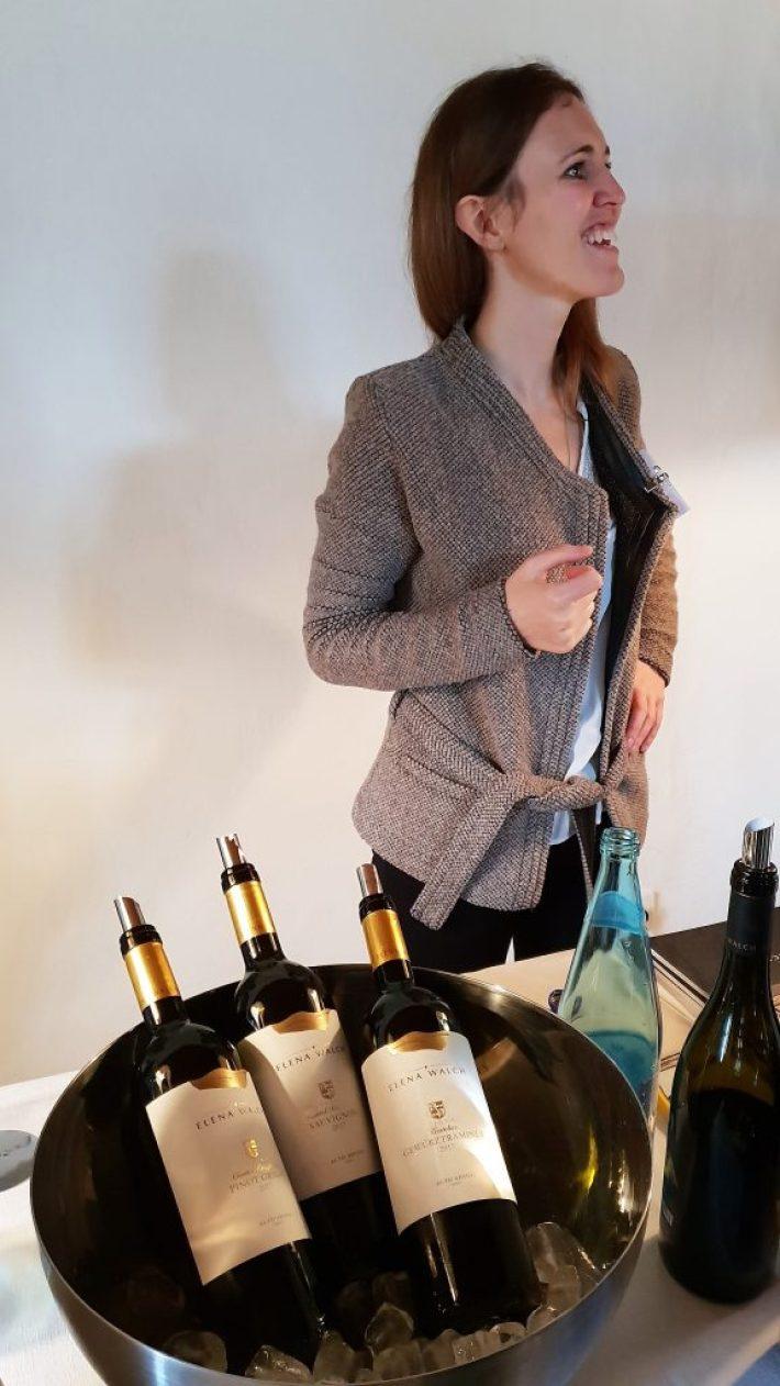 wijnproeverij Elena Walch