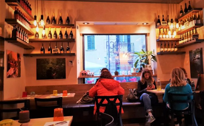 Leuk restaurant in Verona: restaurant Bistrot Tosca