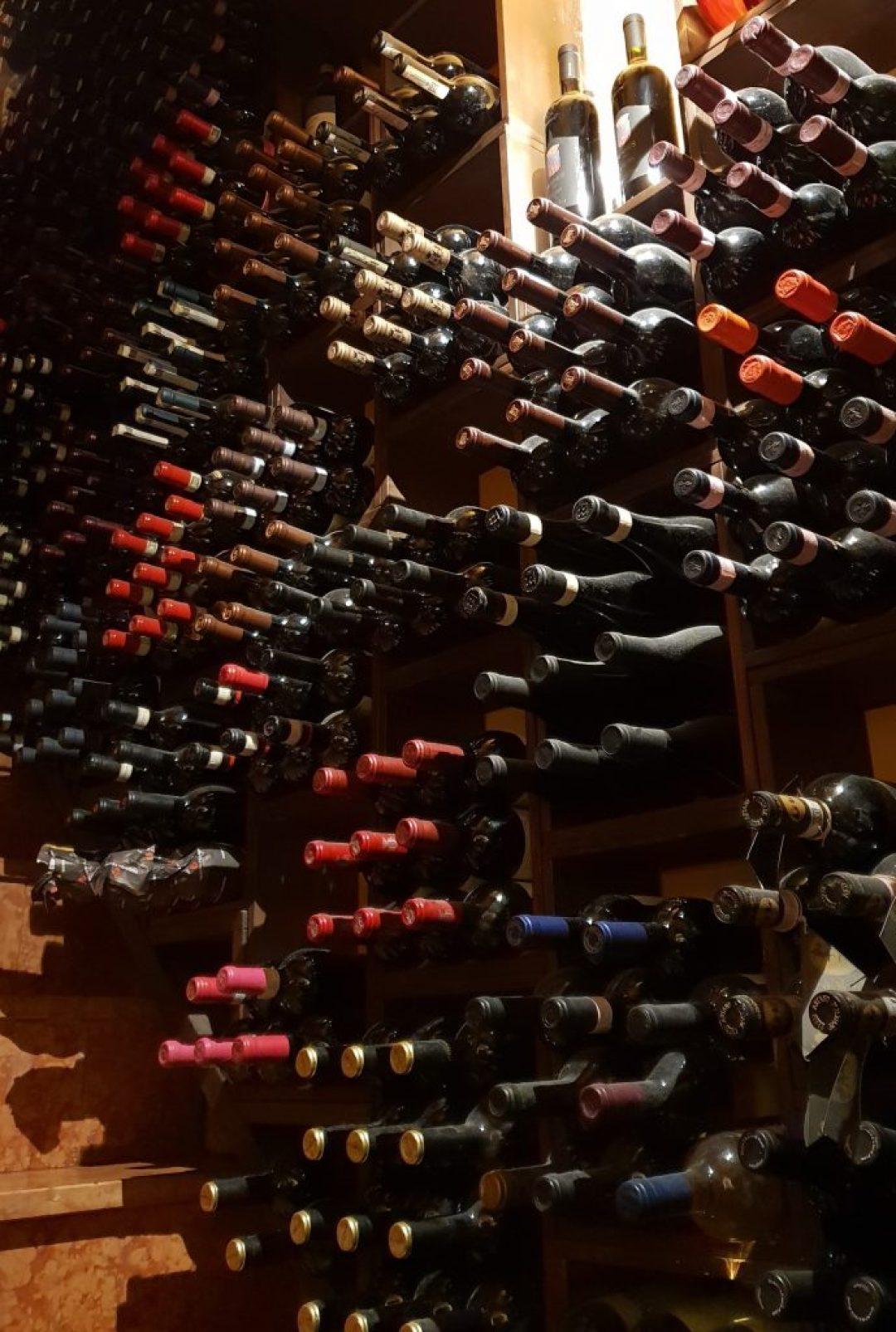 Leuk restaurant in Verona Italië: restaurant Alcove Del Frate wijnkelder