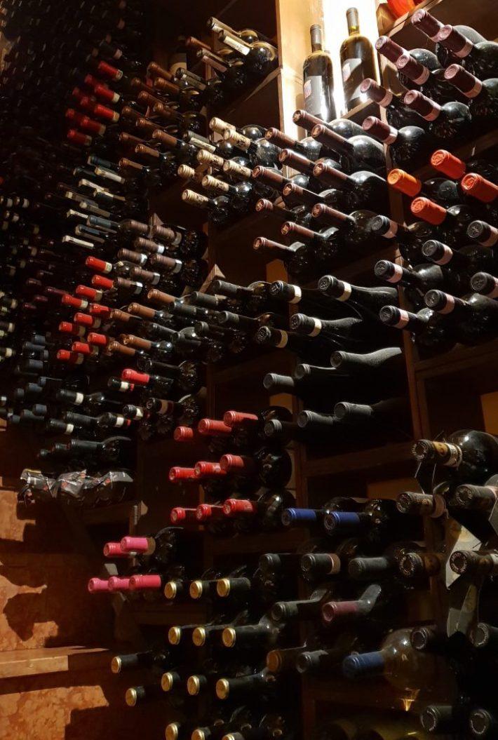Leuk restaurant in Verona: restaurant Alcove Del Frate wijnkelder