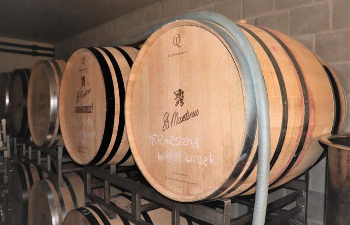 houten wijnvaten St. Martinus