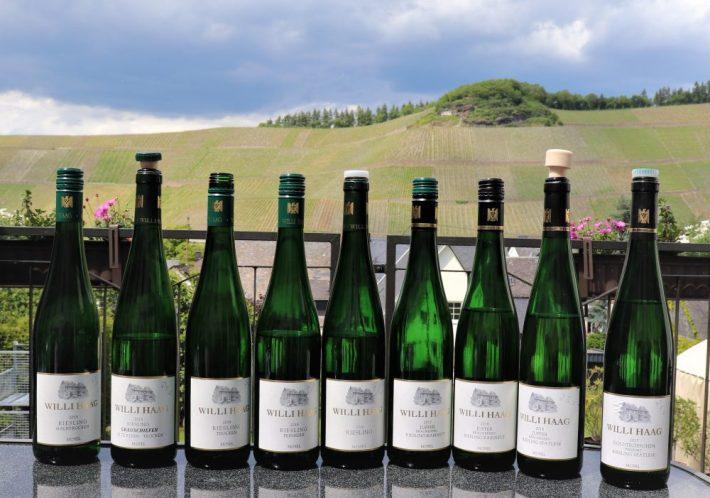 Willi Haag wijnproeverij