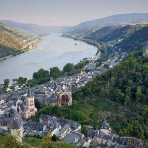 uitzicht Mittelrhein