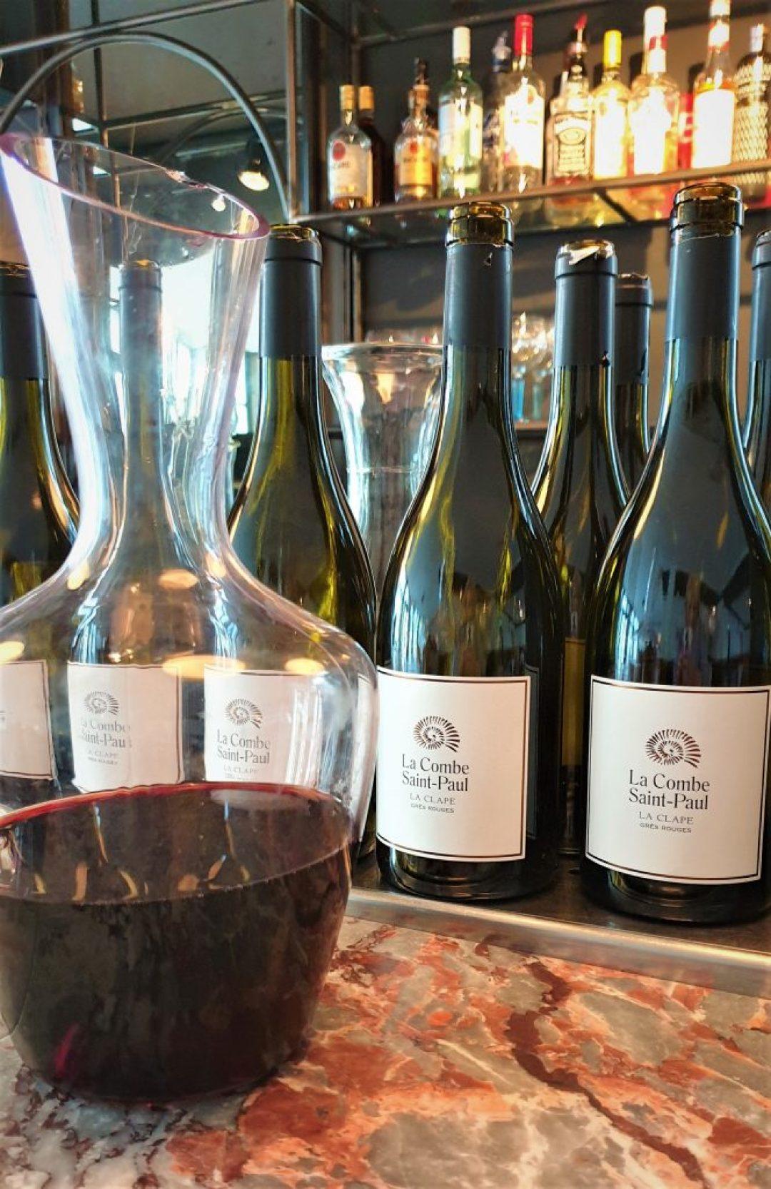 wijn bij Brasserie Zalm Gouda