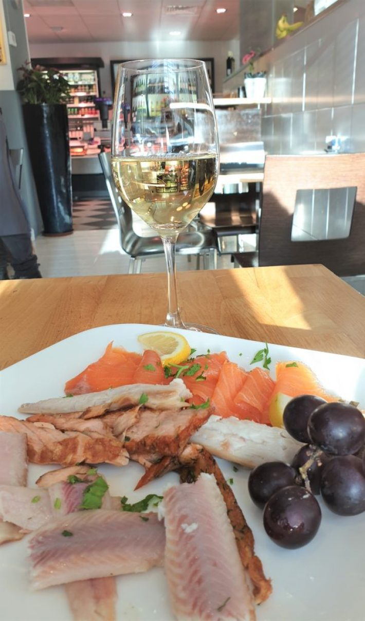 Schuitemaker vis en wijn