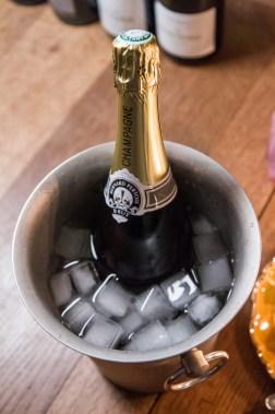 Bernard Pertois blanc de blancs champagne in een koeler
