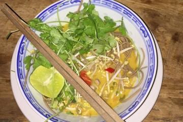 Khao Soi - Pittige Thaise soep