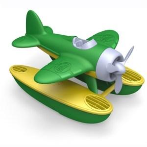 Zeevliegtuig groene vleugels