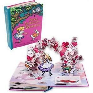 alice in wonderland pop up boek engels boek online winkel amsterdam