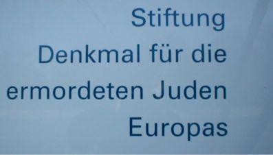 Monument voor de vermoorde Joden.