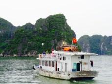 Onderweg in Ha Long Bay