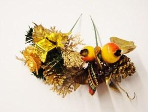 Krásna umelá dekorácia kytica