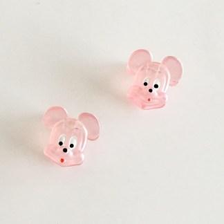 Krásny detský štipec do vlasov v tvare Mickey Mouse. Vhodný pre deti aj dospelé ženy. Farba- oranžová. Rozmer: 3cm