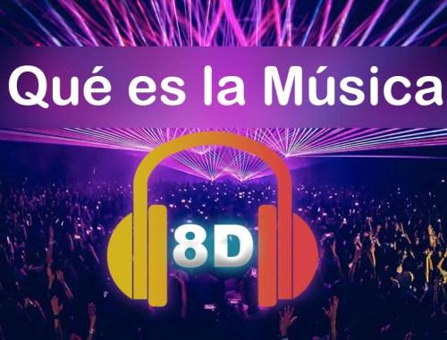 que es la música 8d
