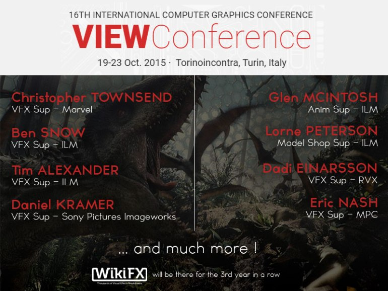 view2015_mainspeakers VIEW Conference 2015