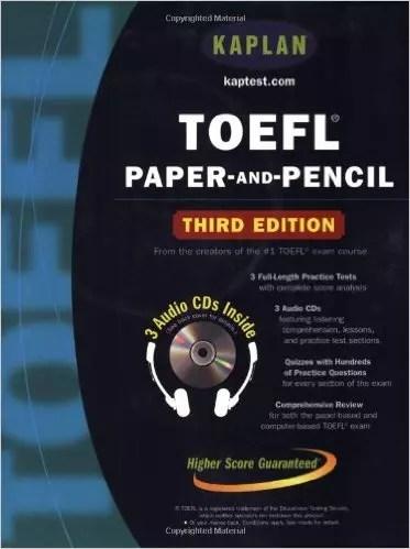 TOEFL Paper-and-Pencil (Kaplan Toefl)